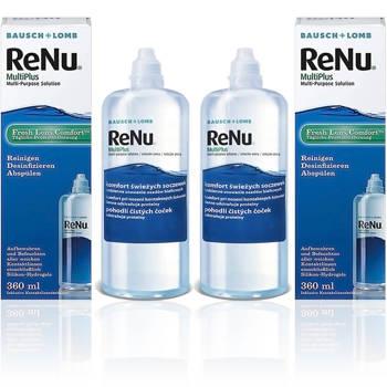 Zestaw płynów ReNu MultiPlus 2x 360 ml + GRATIS 60 ml