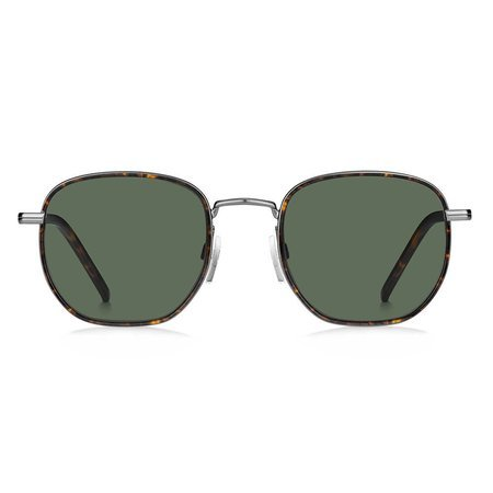 Tommy Hilfiger metalowe okulary przeciwsłoneczne srebrne TH 1672/S R80/QT